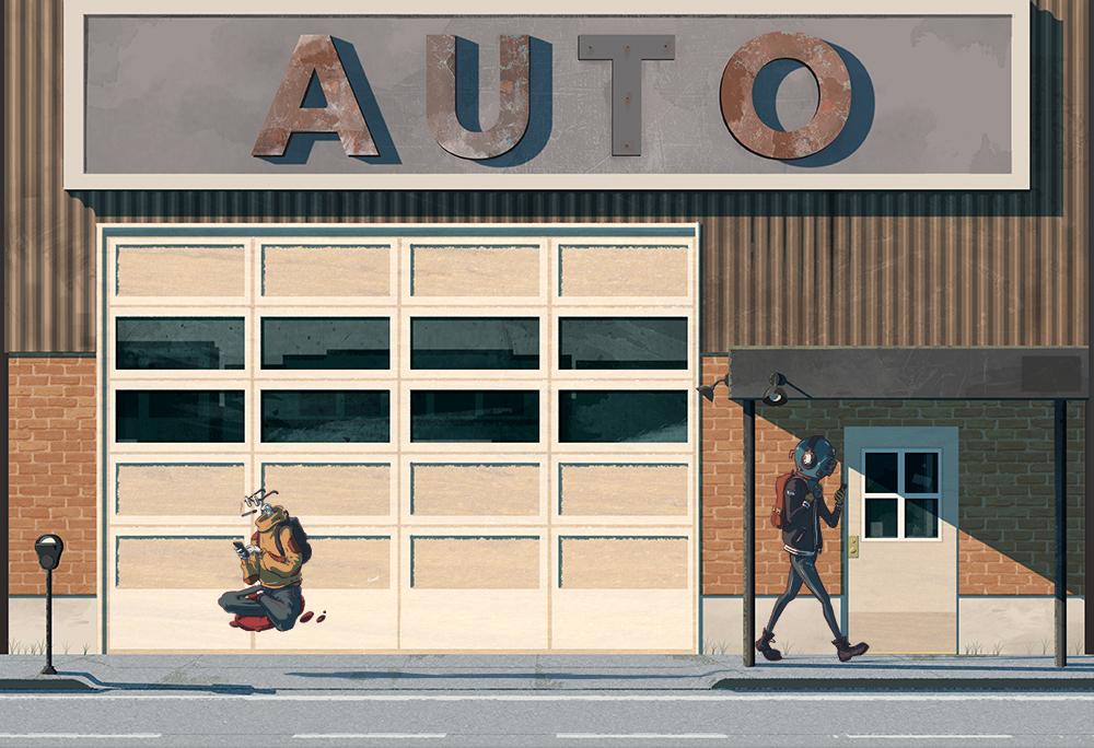 Autoshop — Sam Estrabillo