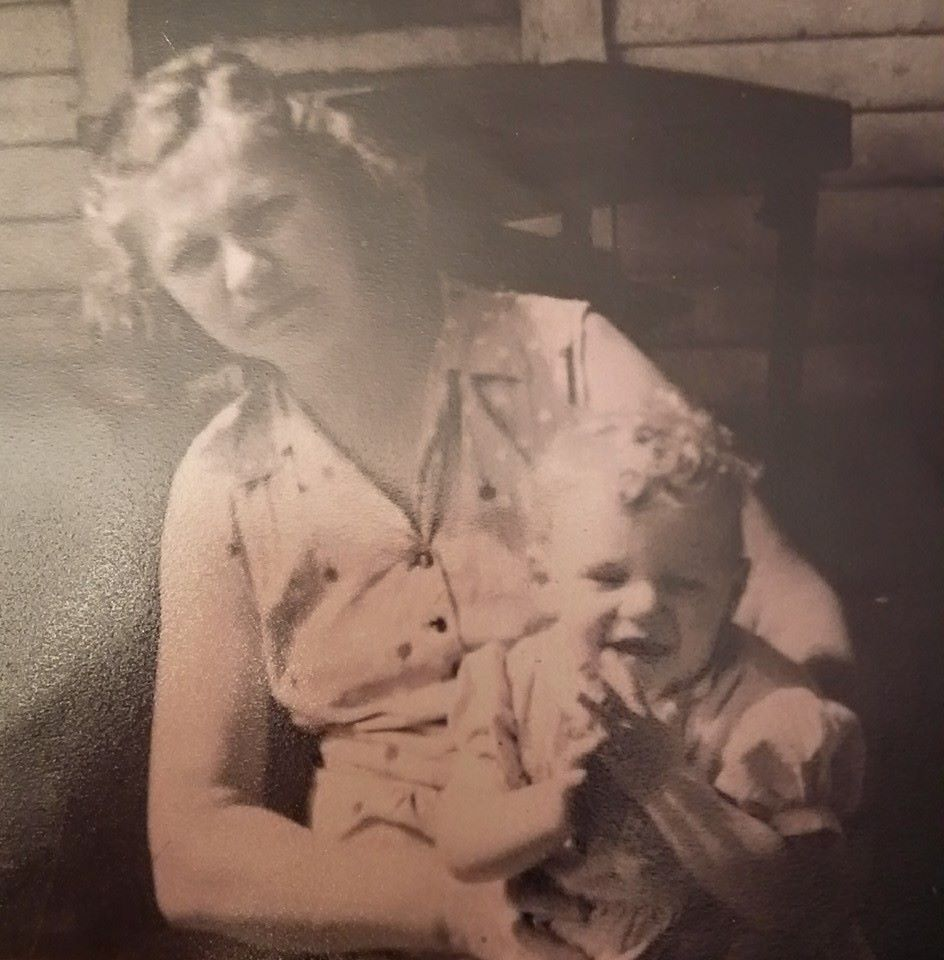 Pictured left to right Irene Helm (Shelleena's mom) and Shelleena McConnell