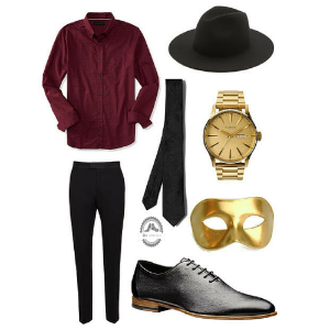 Men's Masquerade Look