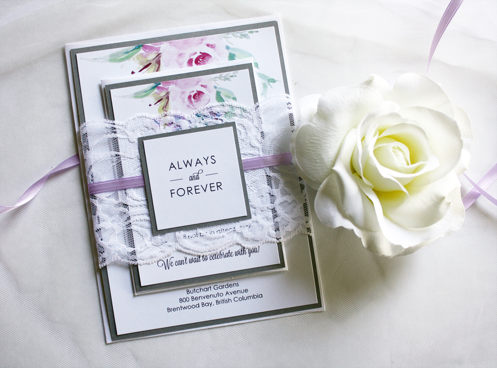 new to the shop floral watercolour invitations always by amber