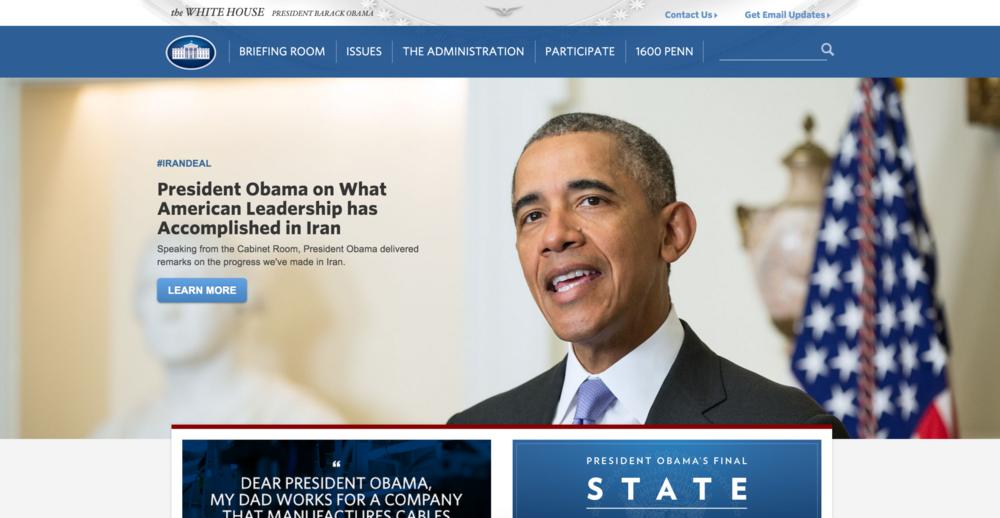 Whitehouse.gov by Ashleigh Axios