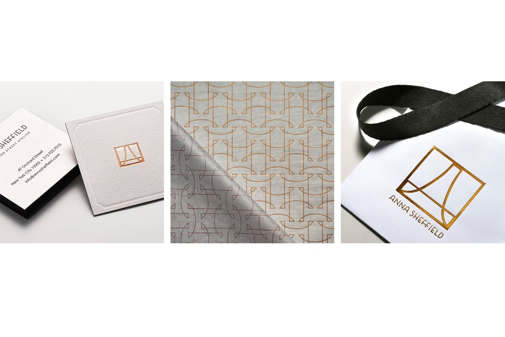 Anna Sheffield Brand Identity Packaging