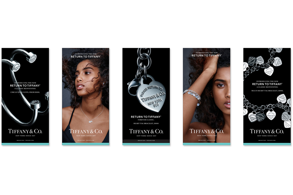 Return To Tiffany '15 Launch Newspaper advertising Photography / Thomas Milewski