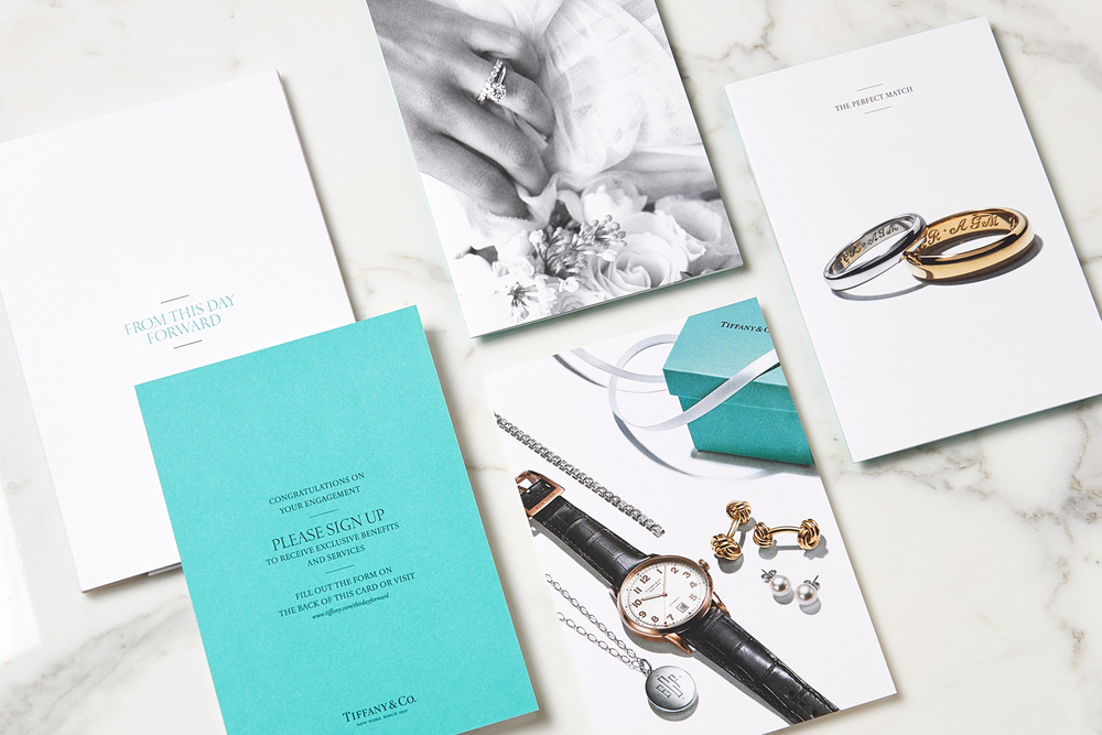 Bridal Collateral Art direction and design Photography / Raymond Meier, Thomas Milewski