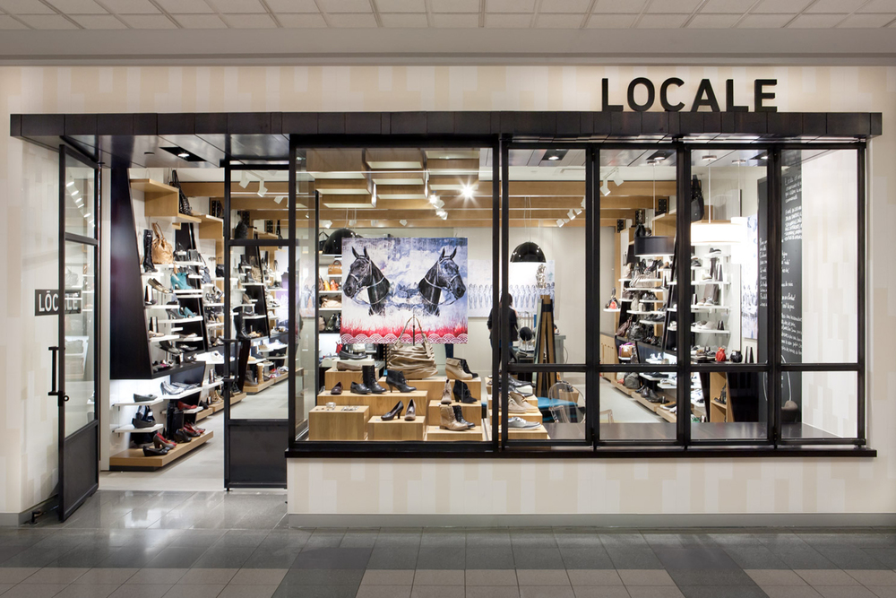 Aldo / Locale Shoes Brand development, naming, strategy, art direction, design