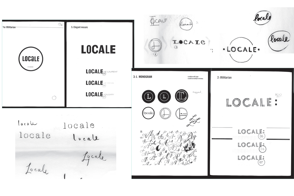 Aldo / Locale Shoes Logo exploration