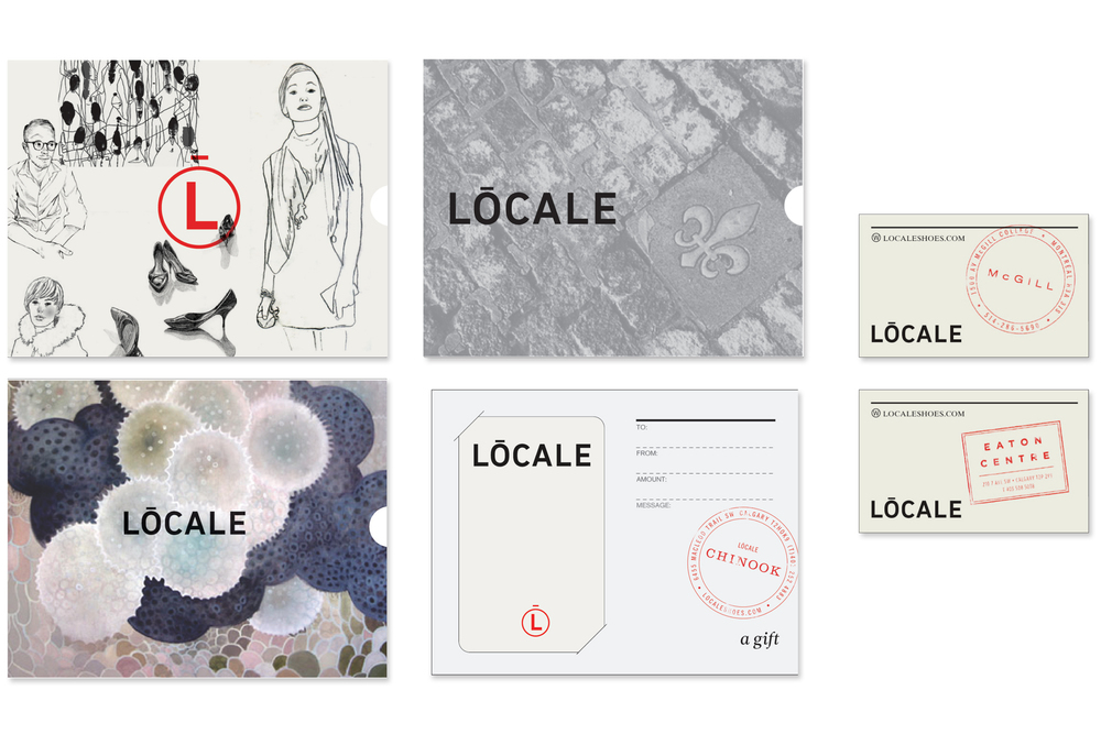 Aldo / Locale Shoes Gift and business cards