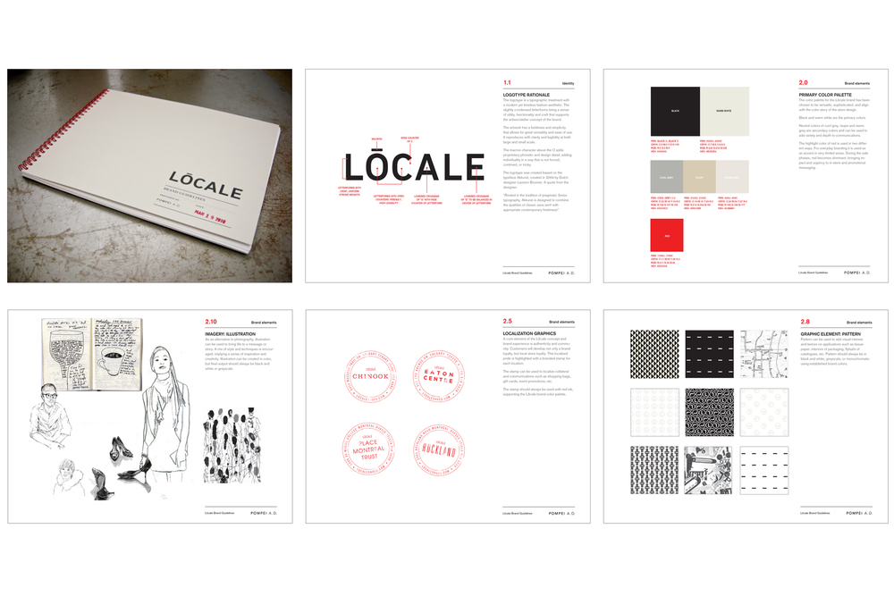 Aldo / Locale Shoes Brand guidelines