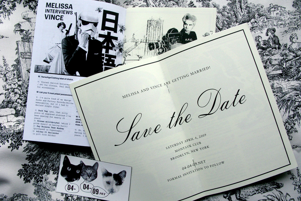 Wedding invitation and event design