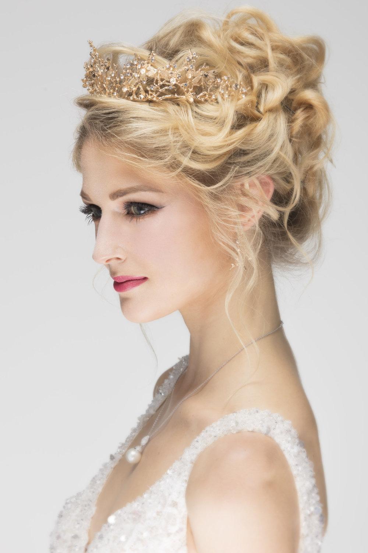 bridal makeup Bridal hair