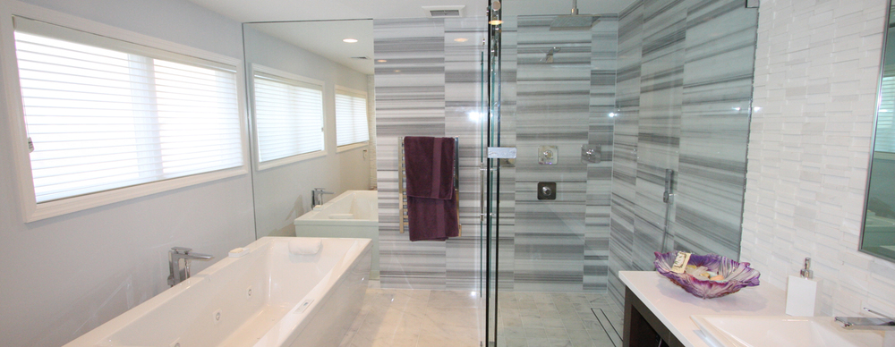 Modern Bathroom with Glass Shower