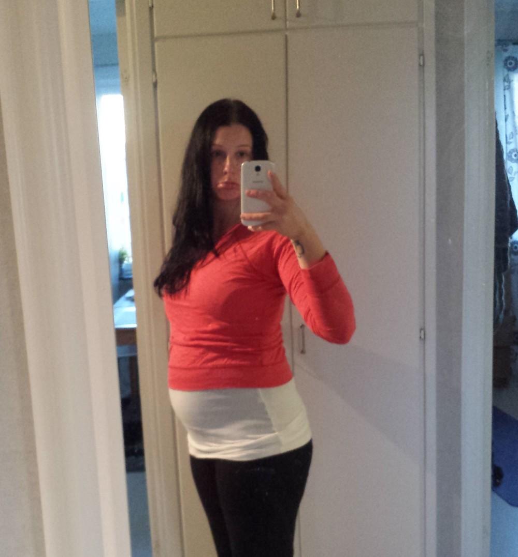 I vecka 23 började jag inse mina begränsningar gällande kläder...