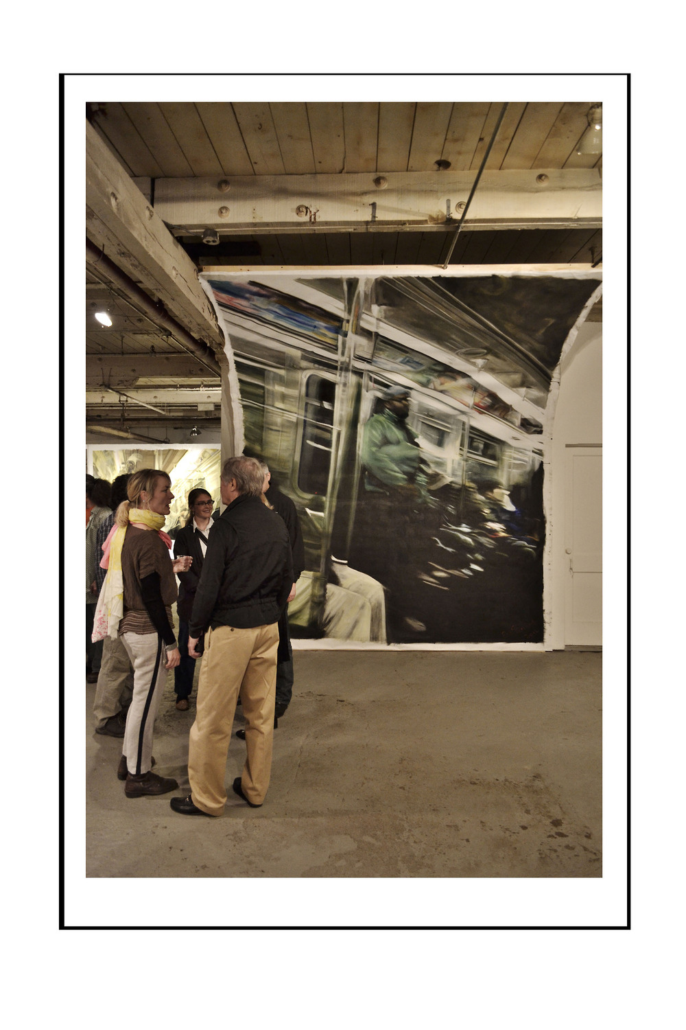 Green Jacket (Speed Inside No. 2) - [installation view: 2 of 2]