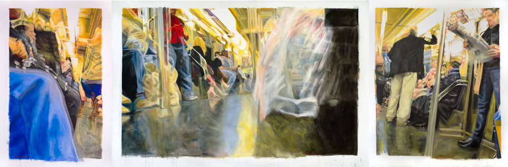 Triptych (Speed Inside No. 4)