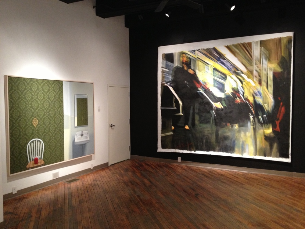 Woman In Black (Speed Inside No. 3) - [installation view]