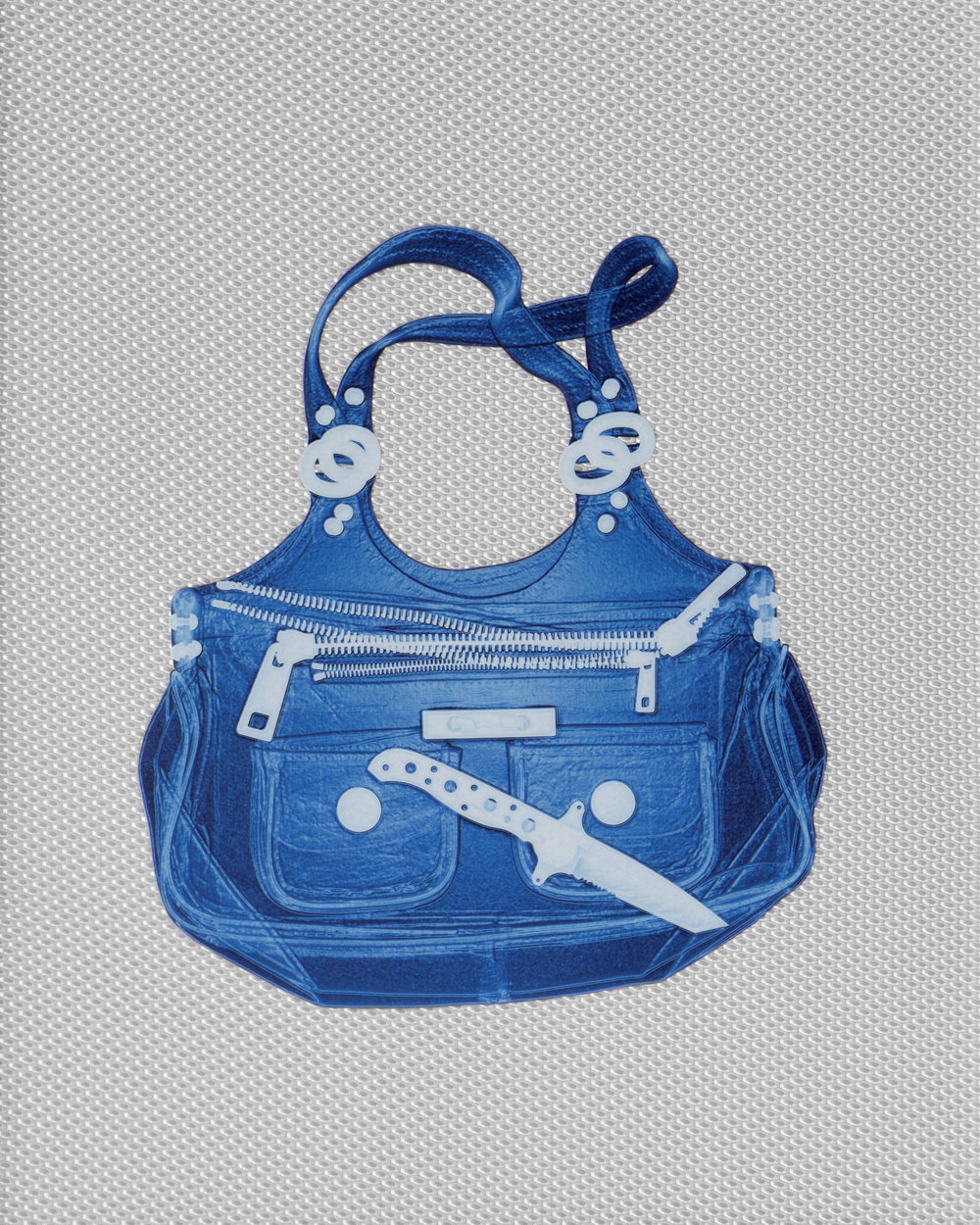Aqua Marc Jacobs Handbag With Knife