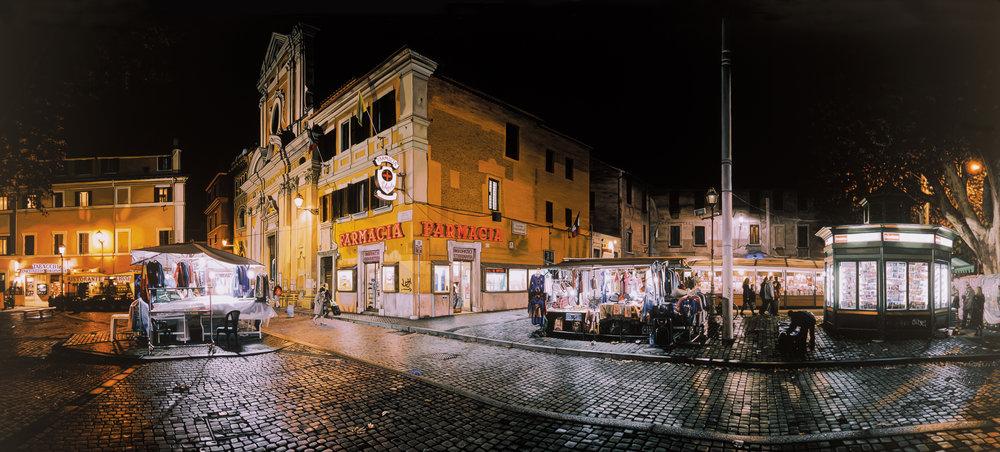 Trastever at Night