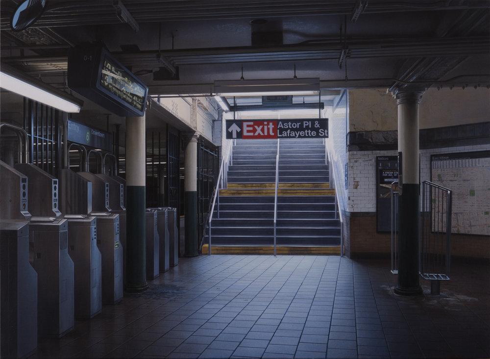 Exit #13 - Astor Place