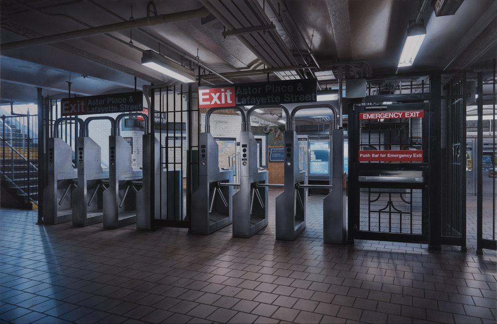 Exit #14 - Astor Place