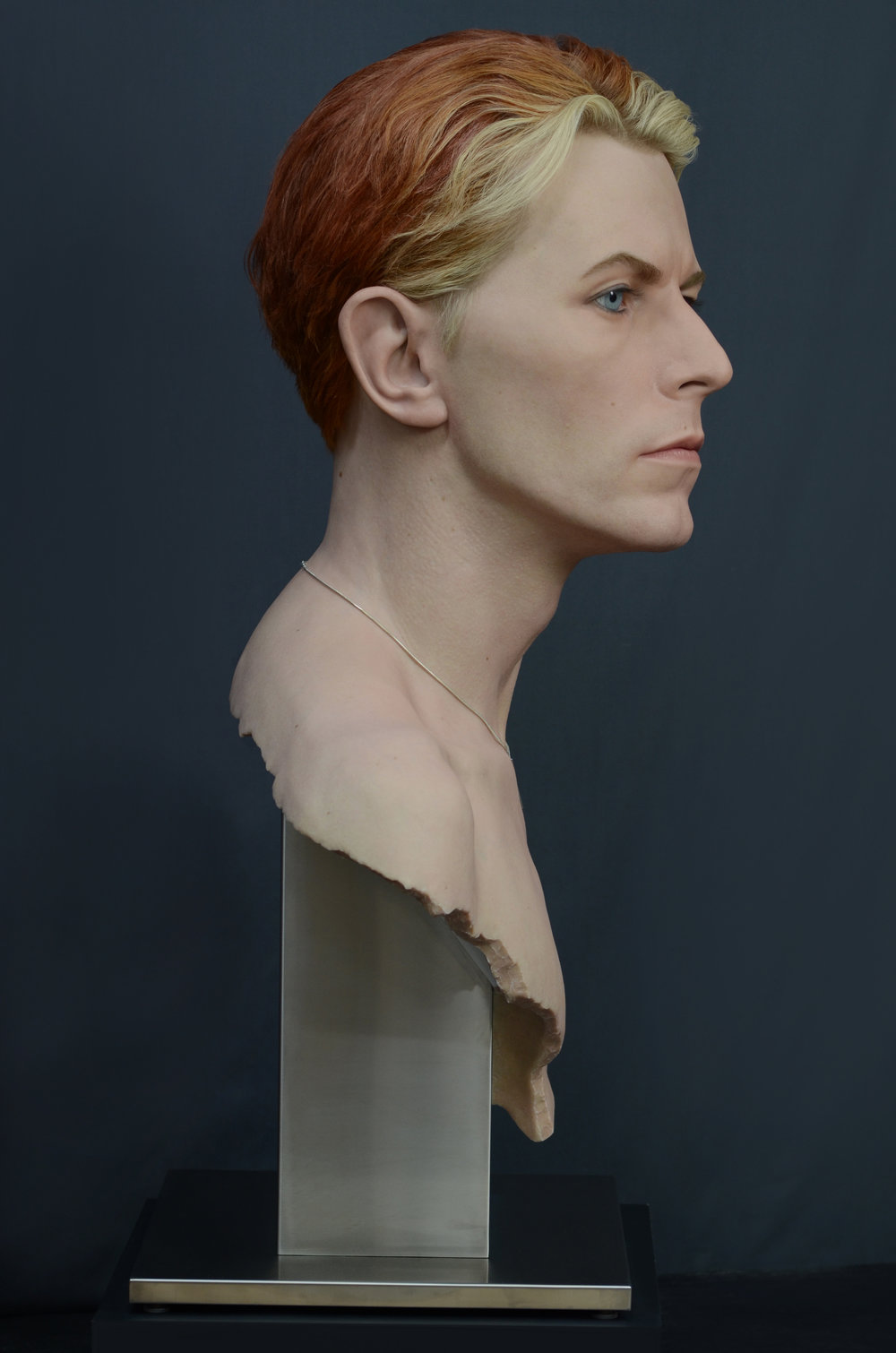 David Bowie (side view)