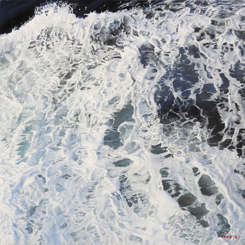 Foam on the Drake Passage