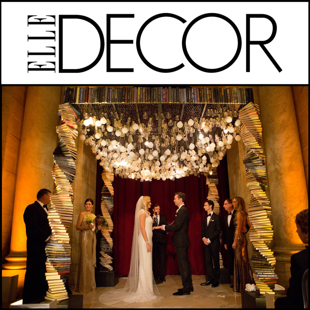 Elle decor feature dave robbins photography nyc wedding photographer junglespirit Image collections