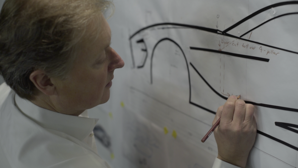 3. HENRIK FISKER TAPE DRAWING