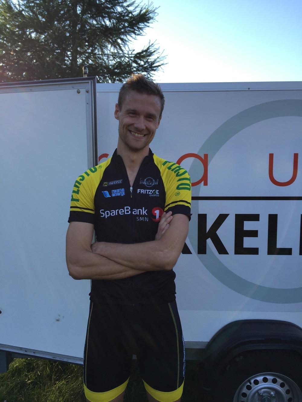 Per Johnny Døving - Klubbmester 2016 på terreng og landevei.