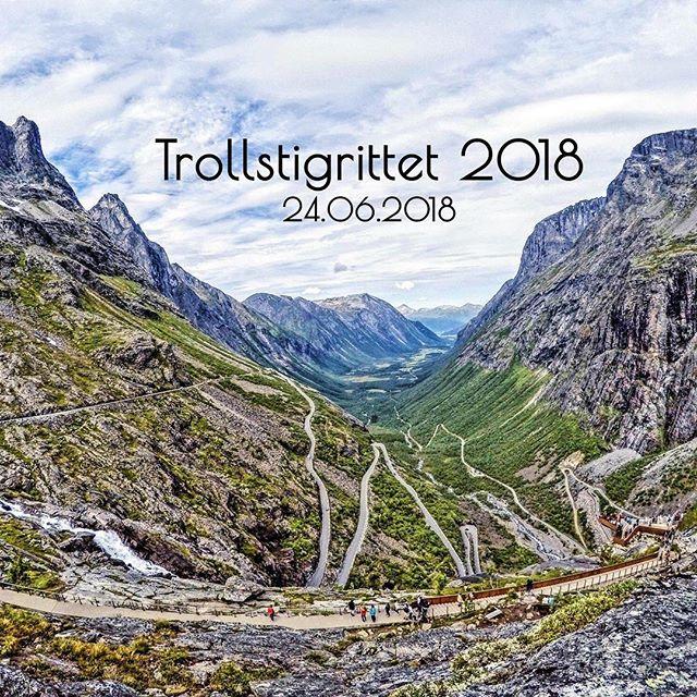 Bli med på Trollstigrittet 2018! For mer informasjon sjekk våre hjemmesider eller søk på Trollstigrittet 2018 på Facebook! Påmeldingsfrist 21.06. Kl. 23:59. ⛰🚲