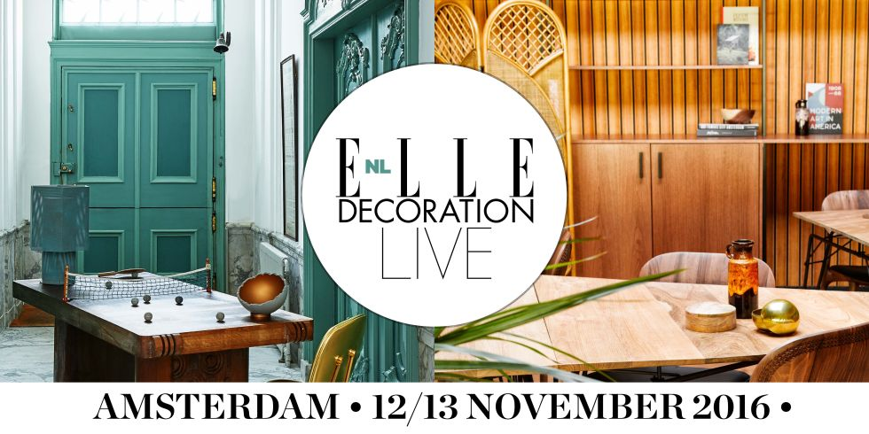 THE NICE STUFF COLLECTOR ELLE DECORATION LIVE AMSTERDAM