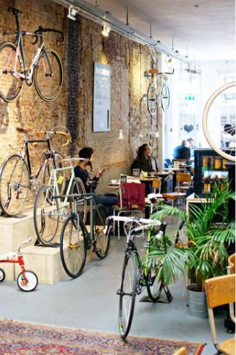 the nice stuff collector interieur blog Lola biks & coffee hotspot den haag