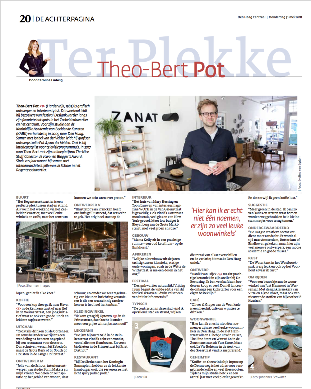 krant den haag centraal interview theo-bert pot the nice stuff collector den haag.png