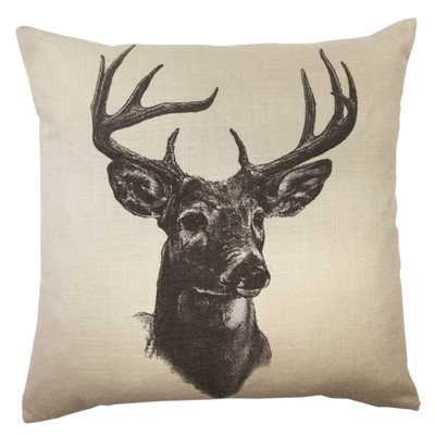 Whitetail Deer Pillow