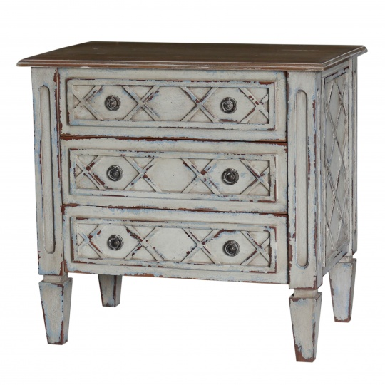 Dauphine 3 Drawer Nightstand