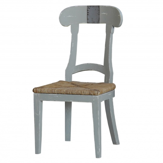 Swedish Farmhouse Chair with Tin