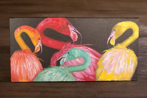 flamingo wall art.jpg