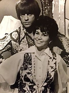 "Starring with Mark Lindsay on ABC's ""Happening '68"" TV series"