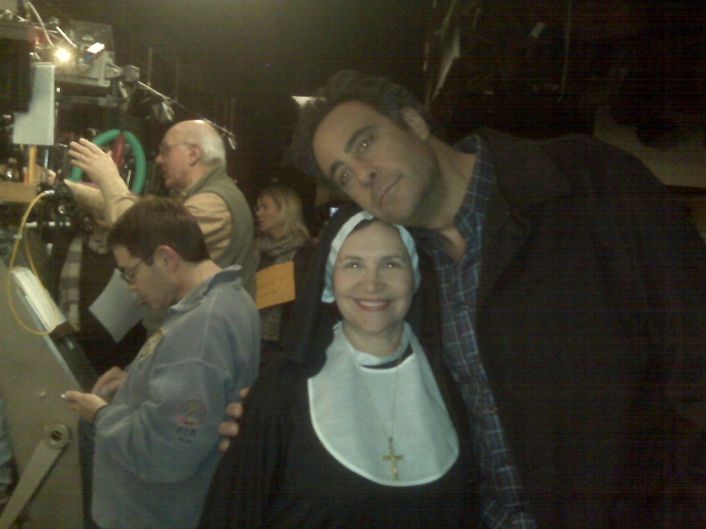 I played a nun on a Brad Garrett TV show. I love him.