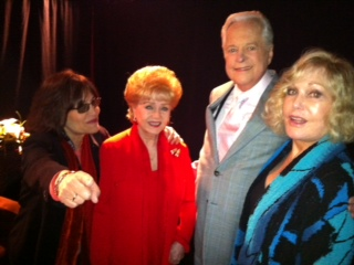 Debbie Reynolds, Robert Osborne and Kim Novak