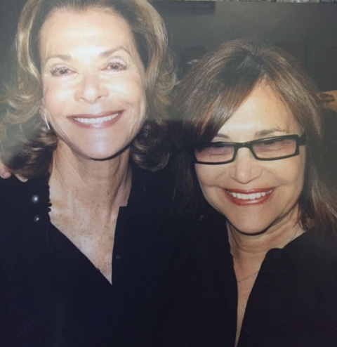 "With Jessica Walter--""Jessie from Queens"""