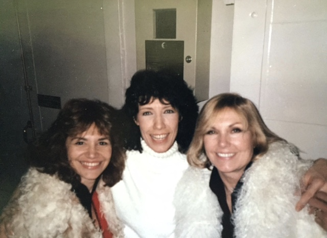 With Lily Tomlin and Kim Novak in NY