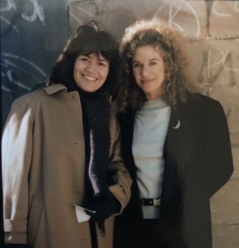 Carole King and I are in Harlem for her album cover photo shoot