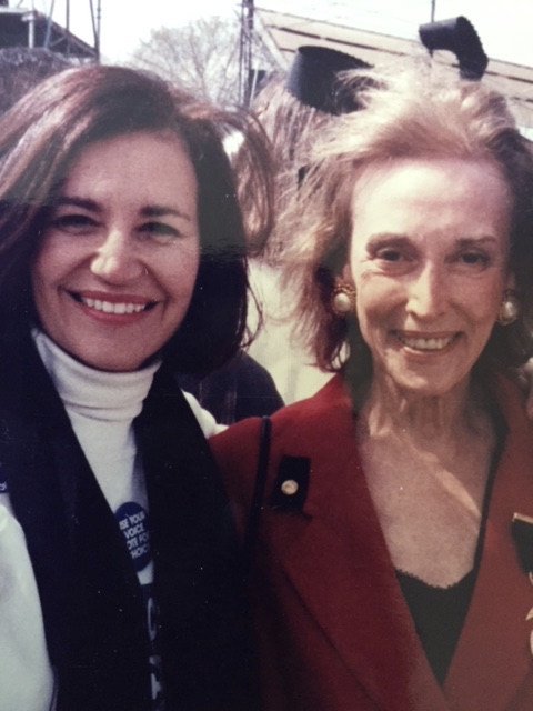 My idol and Friend, Helen Gurley Brown