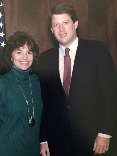 Vice-president Al Gore