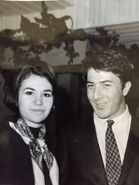 "Two newbies in Hollywood--""The Graduate"" press lunch with Dustin Hoffman, who was terrified"