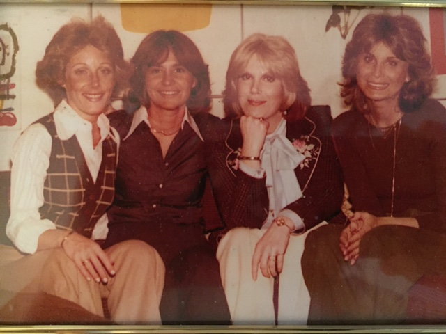 Lesley Gore, Me, Dusty Springfield, and Ellen Weston