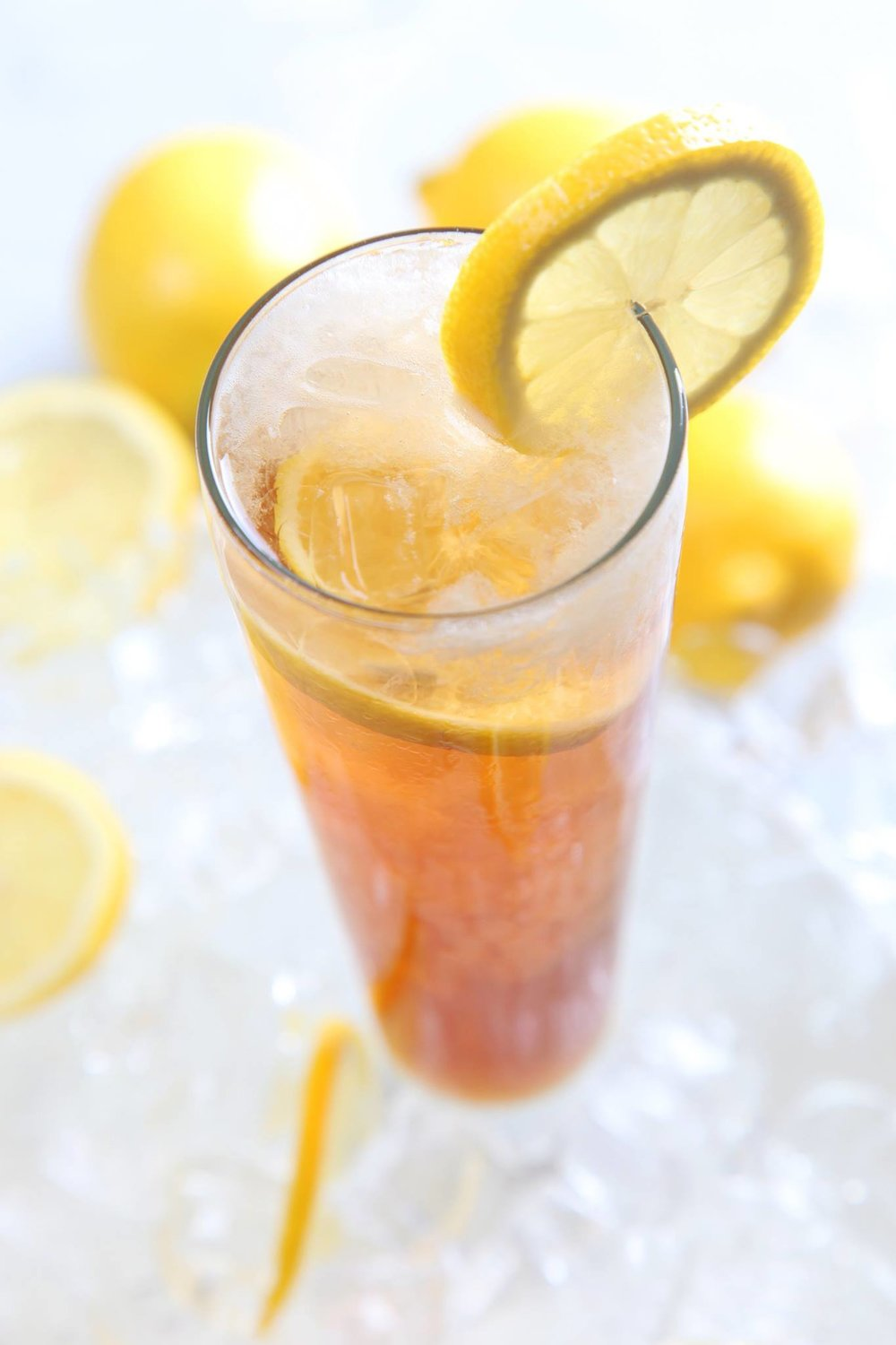Next level tea... - Try My T is the next level gourmet iced tea. Lightly sweetened with agave nectar, a delicate blend of all-natural fruit juices and a hint of mint. It's super refreshing, crisp and clean. Enjoy the Experience!