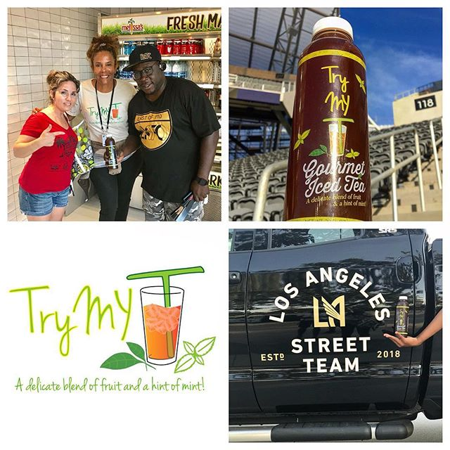 "LAFC fans match time is tomorrow at 3pm!! Get your REFRESH ON with TRY MY T Gourmet Iced Tea ⚽️ TryMyT is available for purchase throughout the stadium at your nearest portable drink stations. Be a part of  the ""Next Level"" iced tea experience with TryMyT. Super refreshing! NEXT BEST TO WATER! #la #losangeles #lafc #soccer #futbol #tea #icedtea #teatox #teagram #lafc #match  #losangeles #tealife #teagram #tealovers #ultimate #experience #nextlevel #gourmet #soccerfan #socal #ilovela #summer #refresh #on"