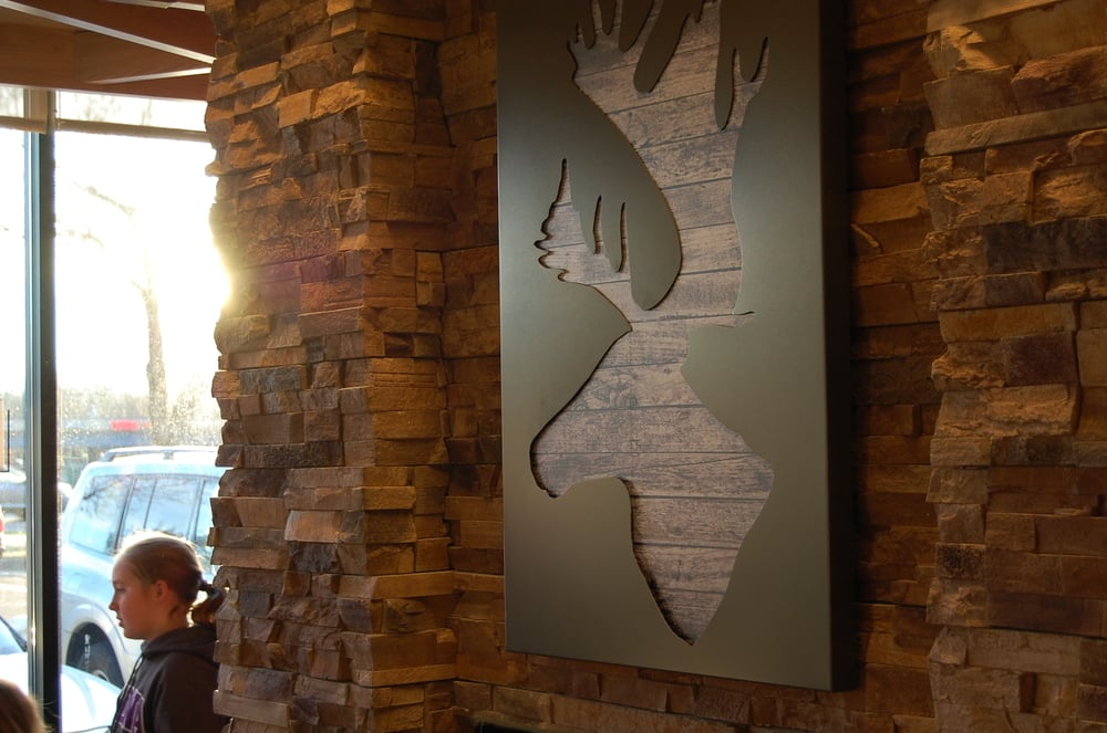 NOW OPEN!! - Wilkus Architects works with local Caribou Coffee to complete the latest Caribou Coffee location in Lakewood, CO (Denver West).