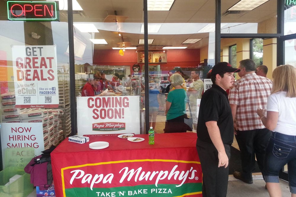 NOW OPEN!! - Papa Murphy's Take 'N' Bake Pizza of Panama City, FL celebrates it's official grand opening today with many area residents.